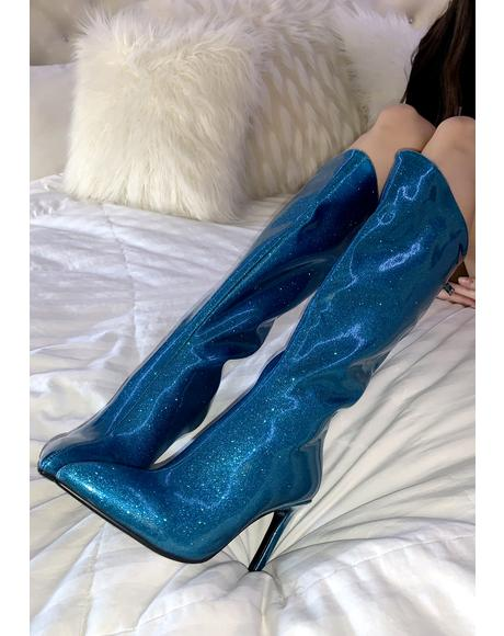 One Night Only Stiletto Boots