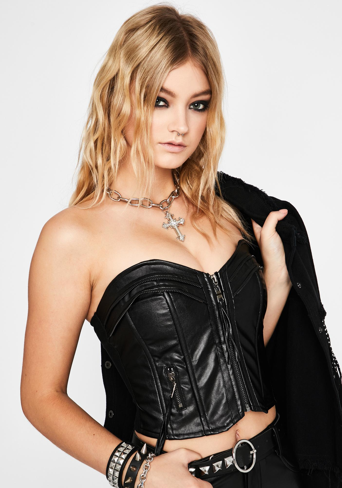 Drive My Car Bustier Top