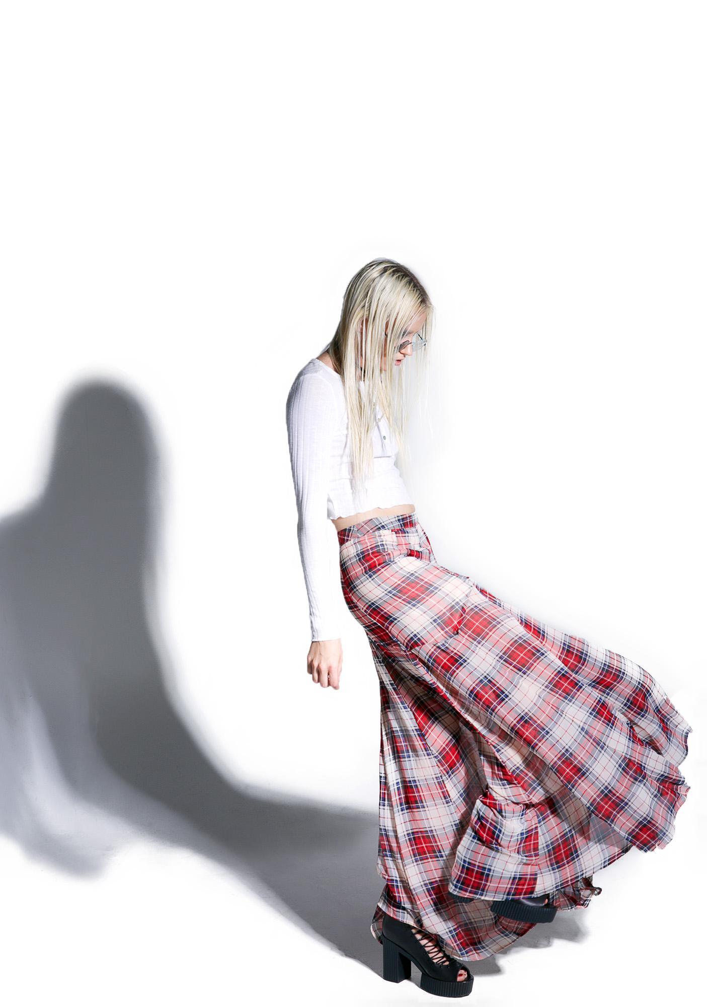 Grunge Goddess Maxi Skirt