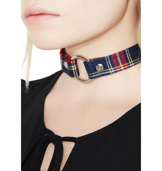 Private School Dropout O-Ring Choker