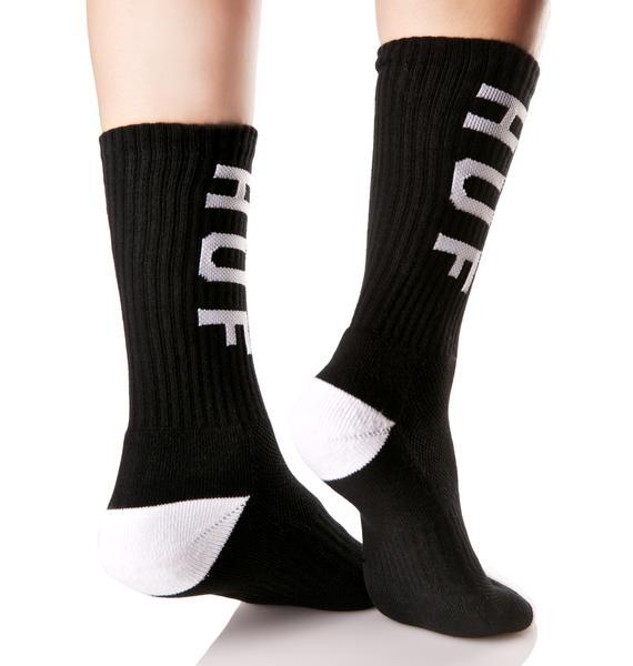 HUF Performance Crew Socks