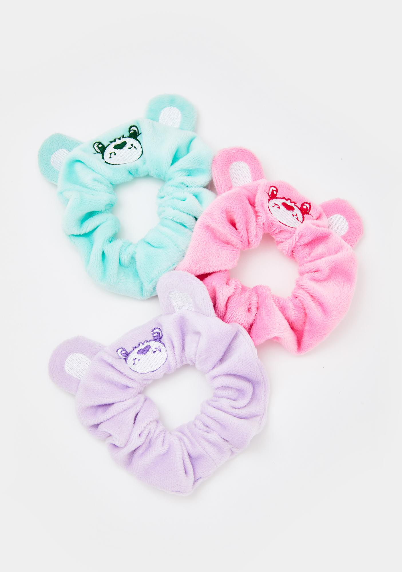 Dolls Kill x Care Bears Dreams Come True Scrunchie Set