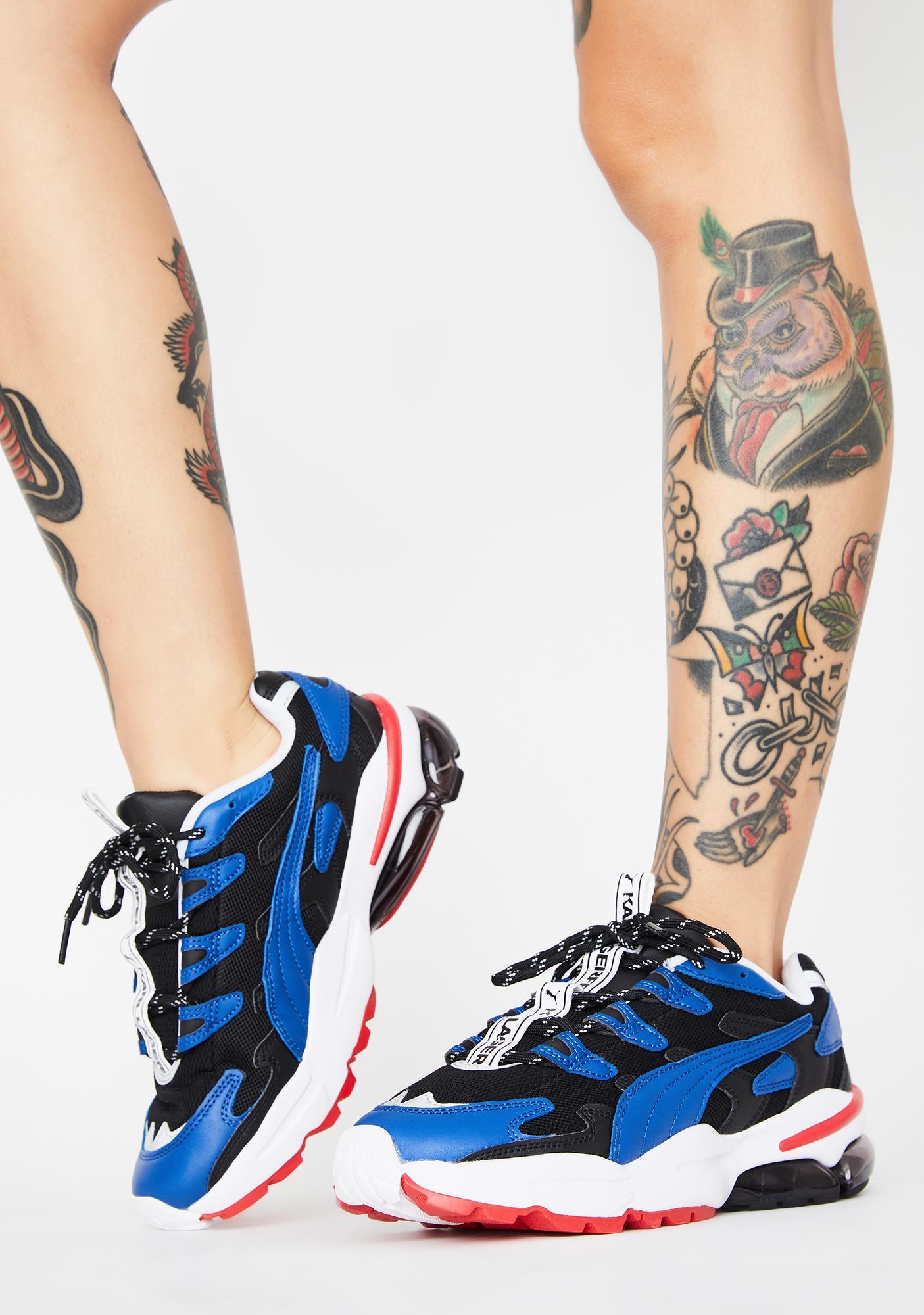 X Karl Lagerfeld Cell Alien Sneakers