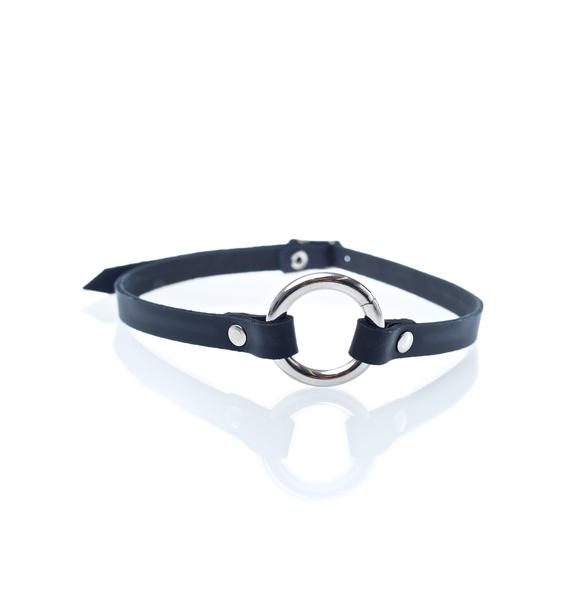 Club Exx Satisfied O-Ring Choker