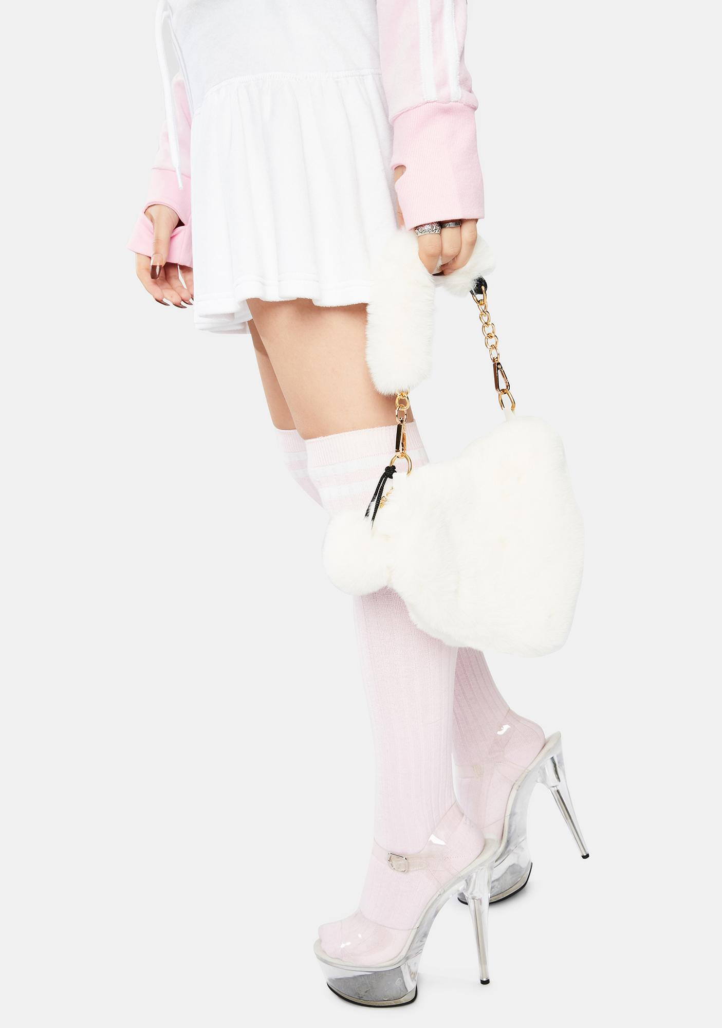 Love U Furever Faux Fur Handbag