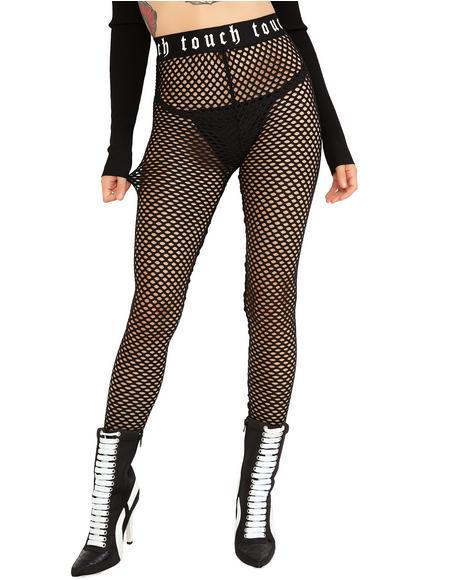 Get Close Fishnet Leggings