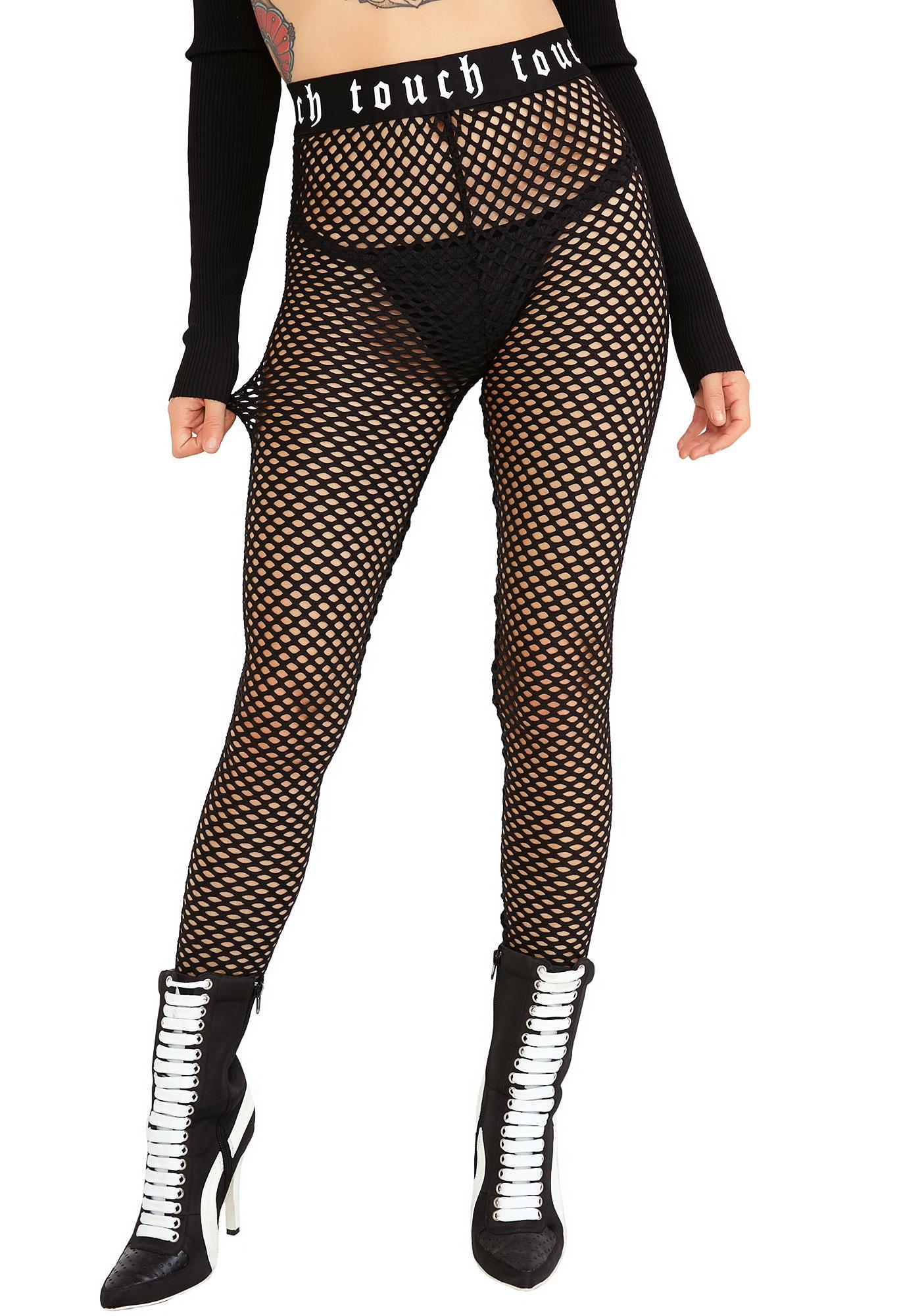 Fishnet Black Leggings | Dolls Kill