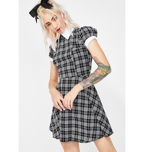 Teacher's Pet Babydoll Dress