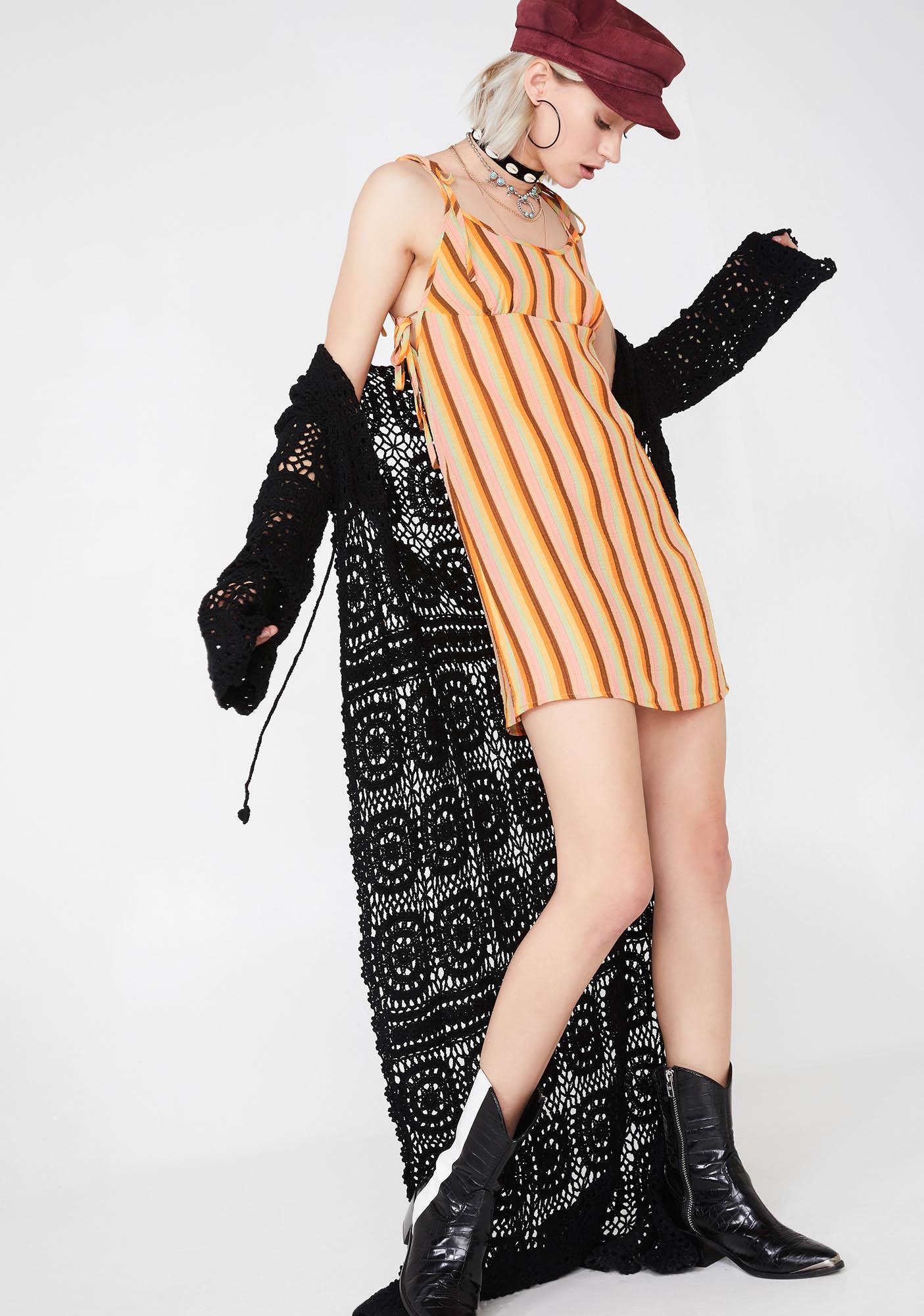 Trippy Traveler Stripe Dress