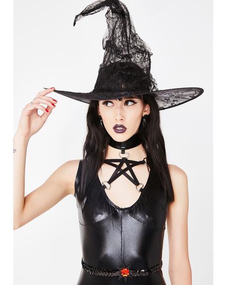 Dark Whispers Witch Hat
