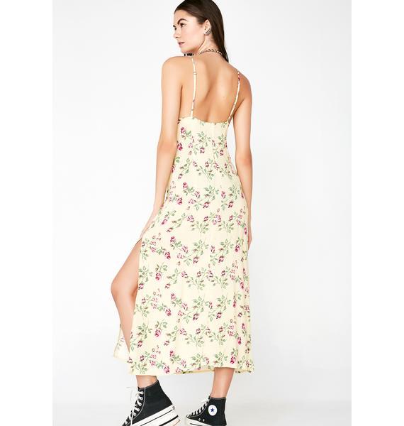 Sunny Side Up Floral Dress