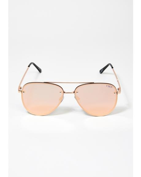 Rose River Aviator Sunglasses