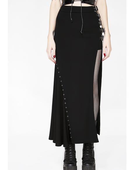 Punk Sexy Slim Half Skirt