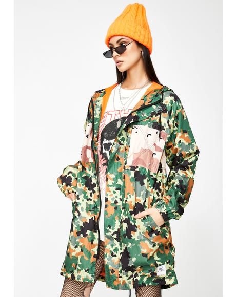 Forest Camo Outpost Parka