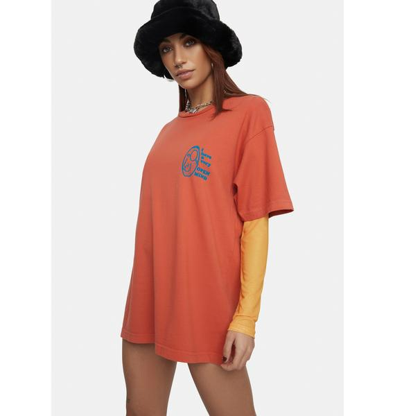 Obey Open Mind Organic Graphic Tee