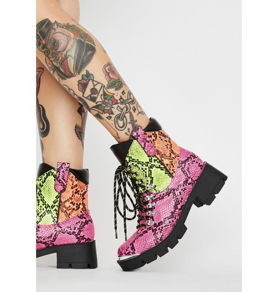 Freak Challenge Me Lace-Up Boots