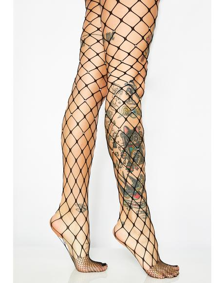 Treasure Trap Fishnet Tights