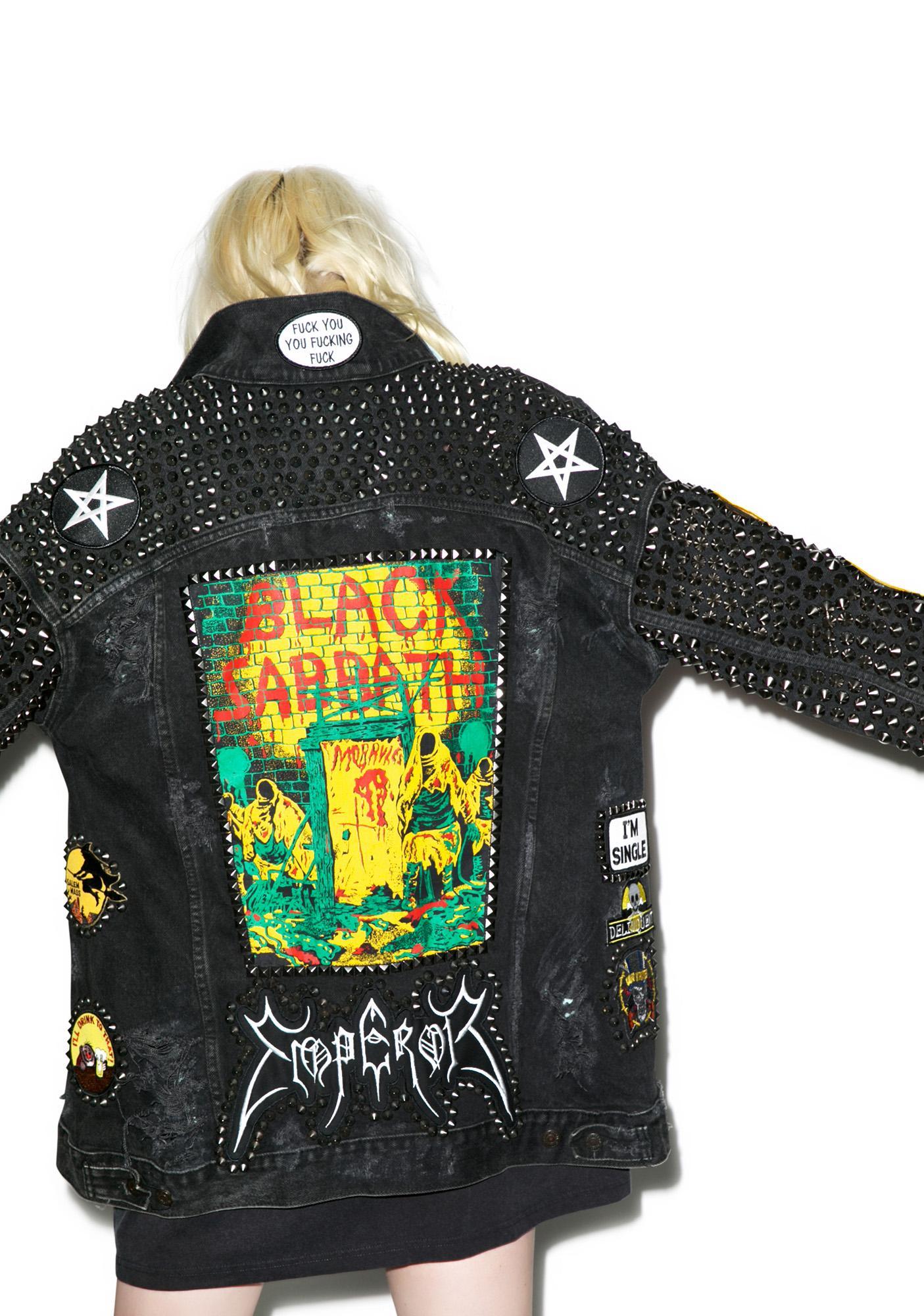 Hazmat Design Funeral Moon Jacket