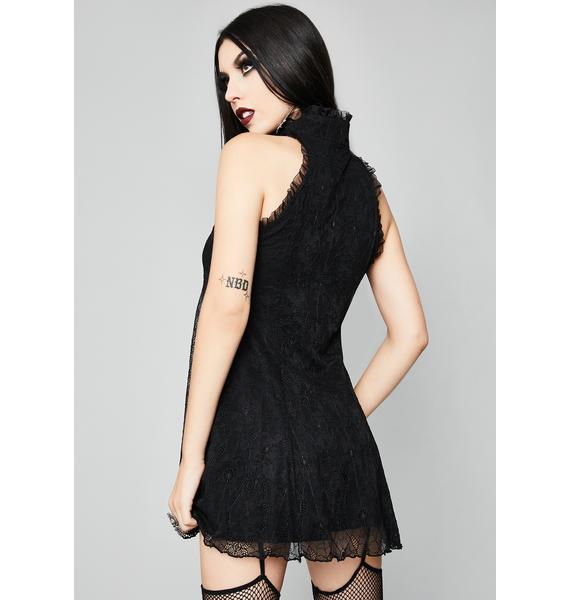 Widow Tangled Mess Mini Dress
