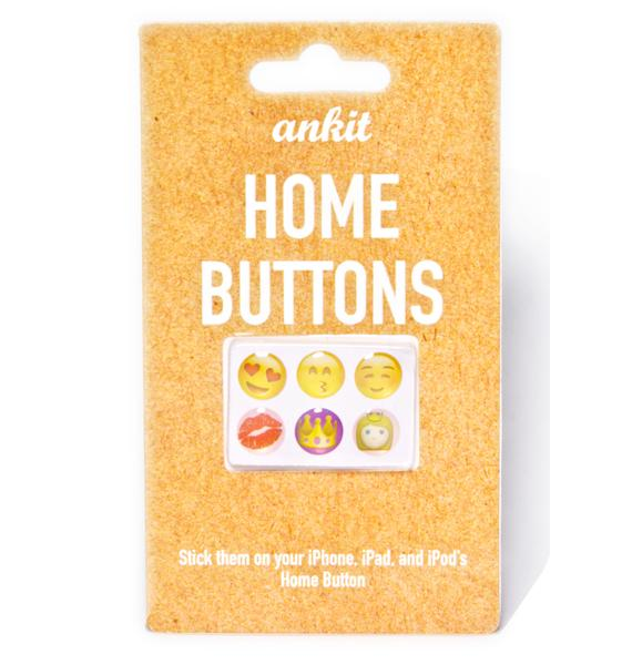 Cute Emoji Home Buttons