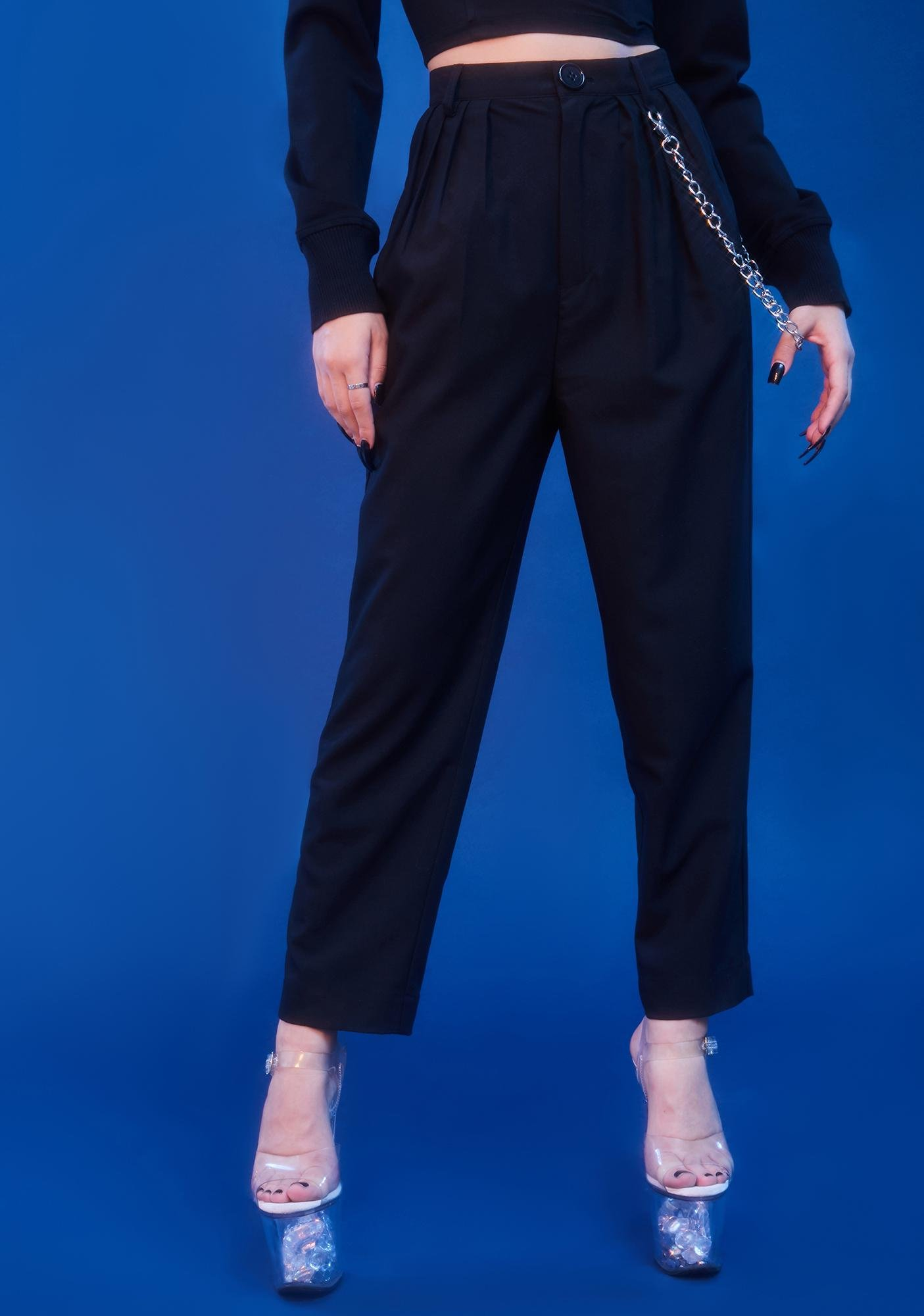 HOROSCOPEZ Keeping It Real Pleated Trousers