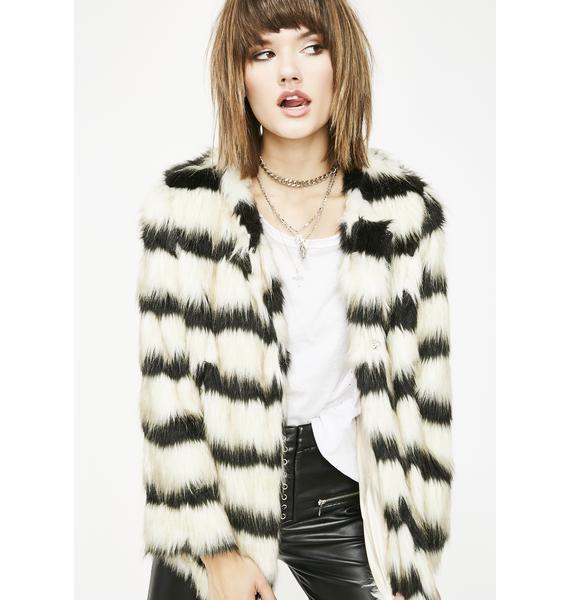 Untamable Babe Fuzzy Jacket