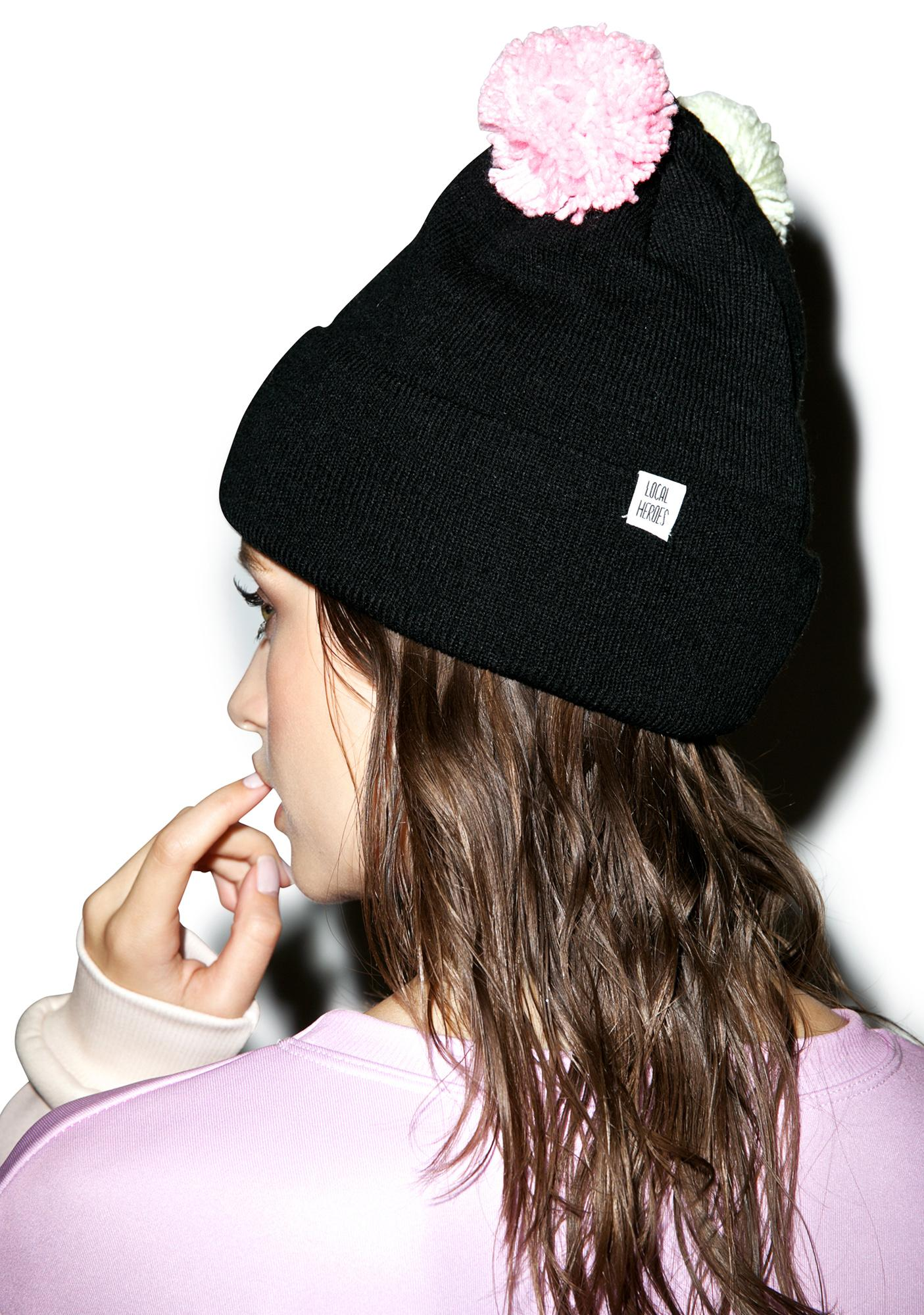 Local Heroes Pom Pom Beanie