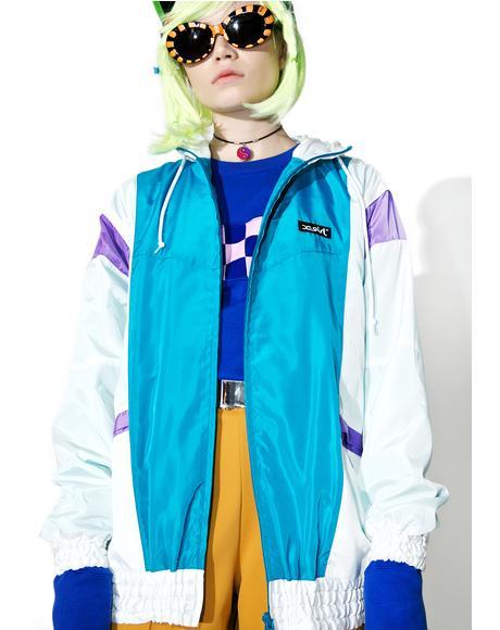 Hooded Panel Jacket