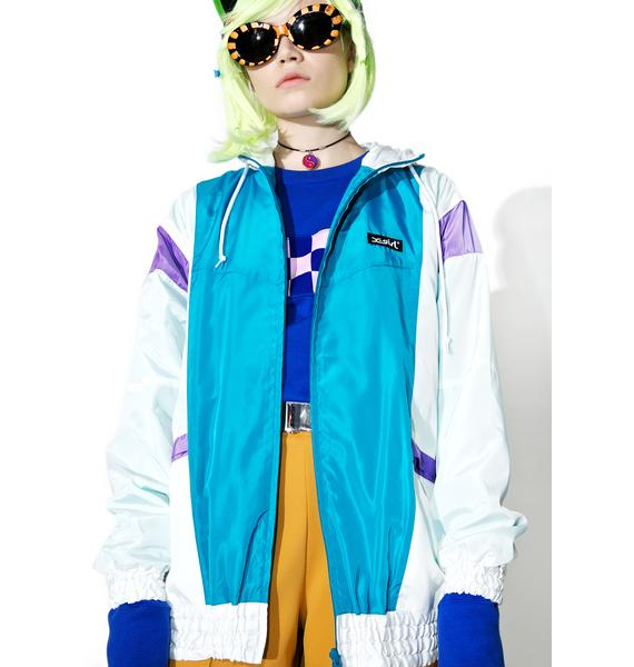 x-Girl Hooded Panel Jacket