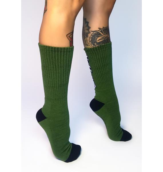 No Hours House Crew Socks