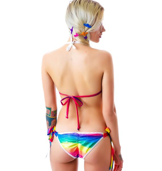 Bangin Dreamz Tie Dye Bikini Set