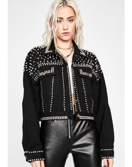 Ready To Rock Studded Jacket