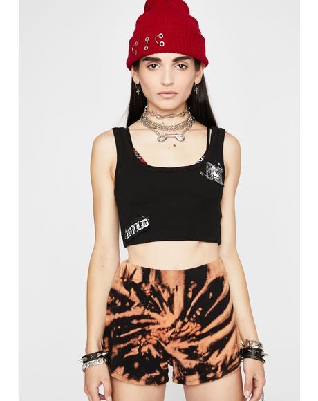 Sand Tiger Tie Dye Shorts