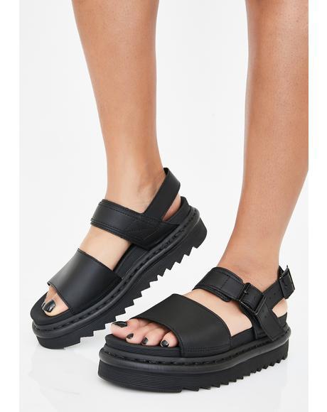 Voss Hydro Platform Sandals