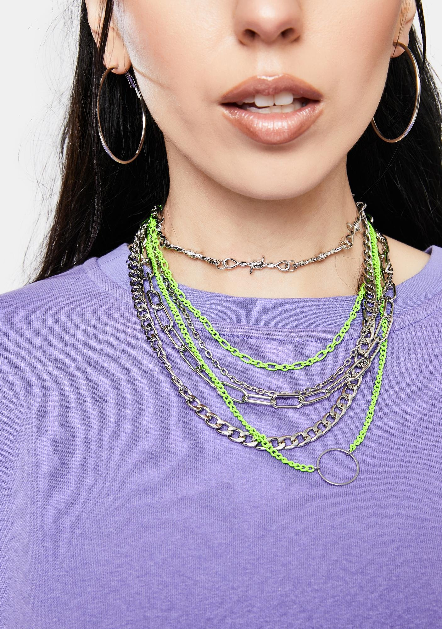 Do What I Want Layered Chain Necklace