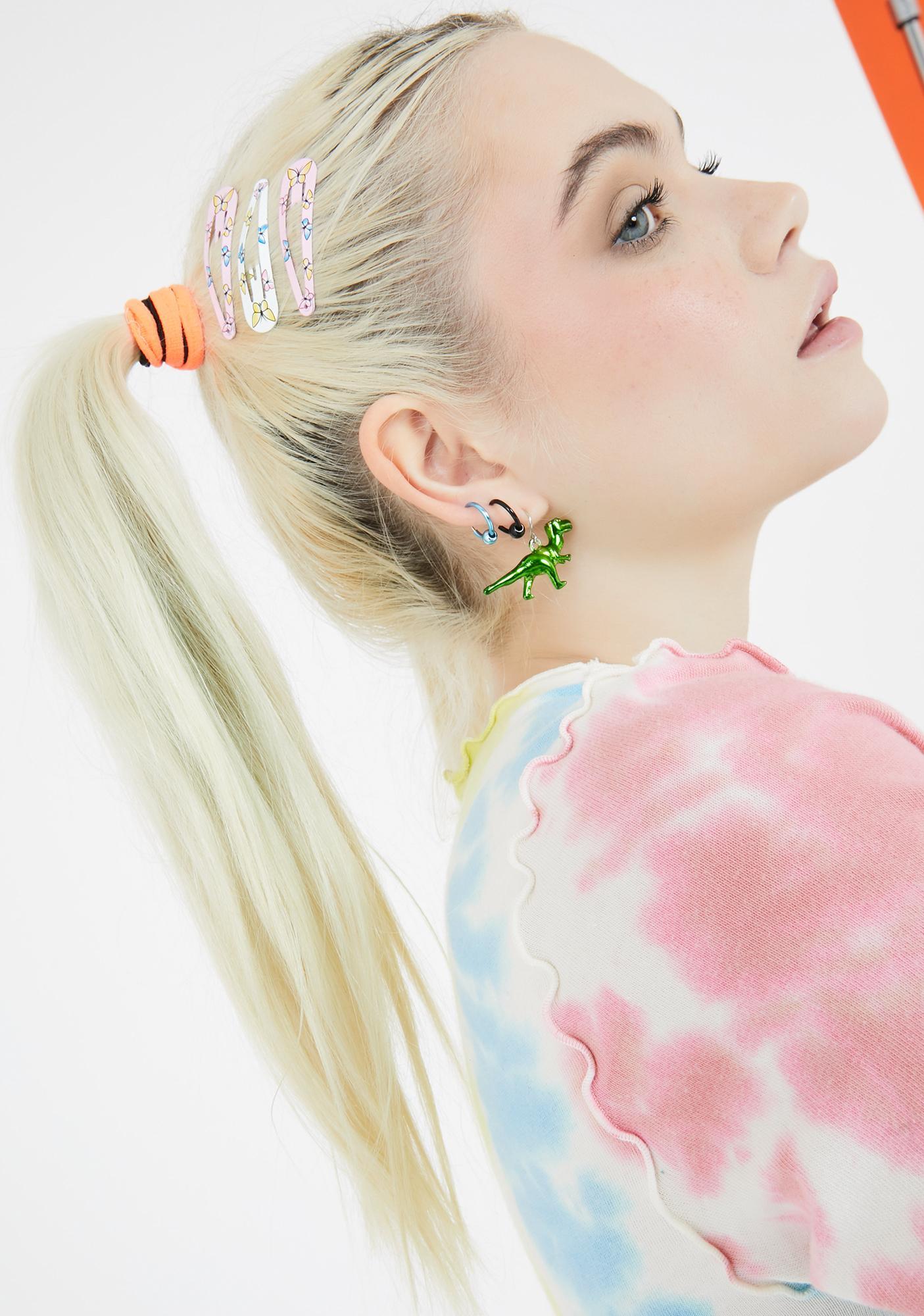 Flutter Shock Butterfly Hair Clip Set