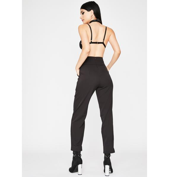 Ink Strapped For Cash Cropped Pants