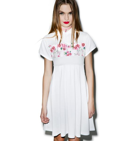 Joyrich Sunset Wallflower Polo Shirt Dress