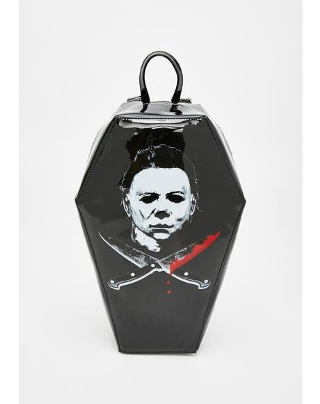 Michael Myers Coffin Backpack