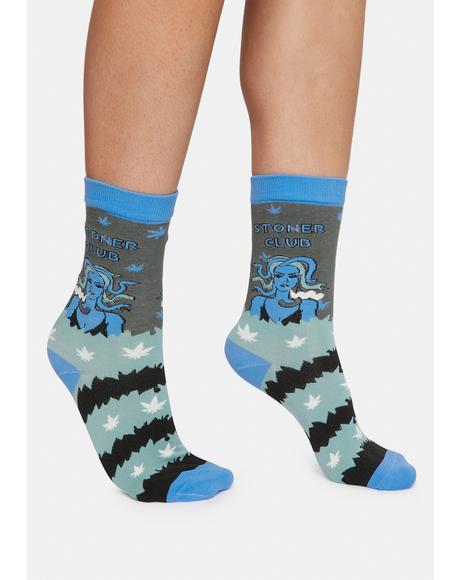 Stoner Club Crew Socks