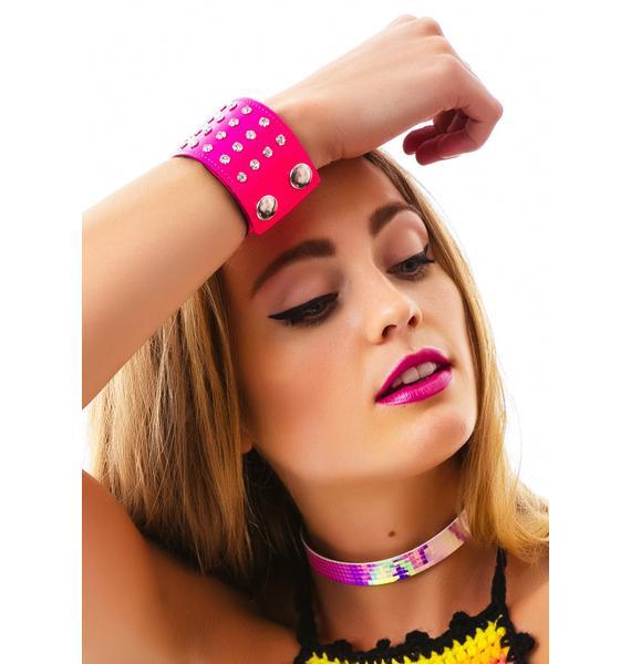 Club Exx Starlight Rhinestone Bracelet