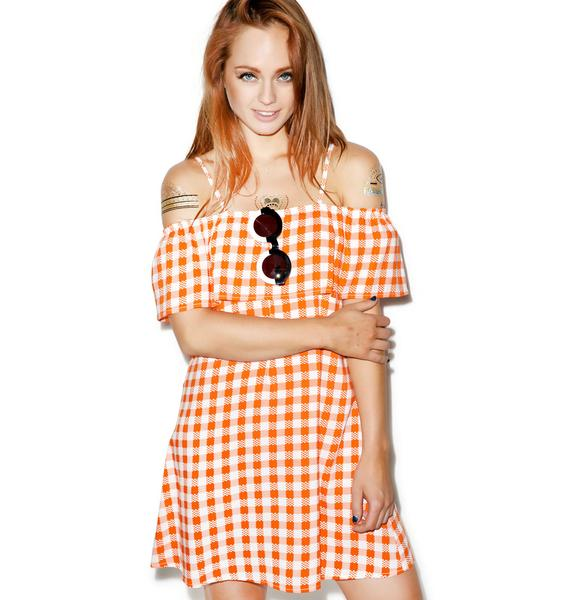 Motel Haian Babydoll Dress