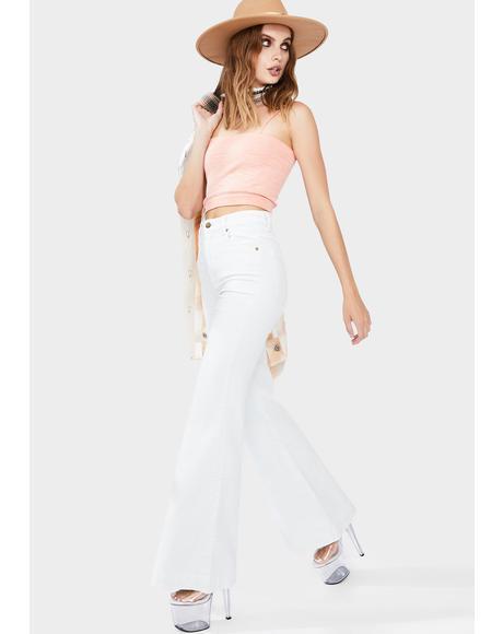 Sky Cord Eastcoast Flare Jeans