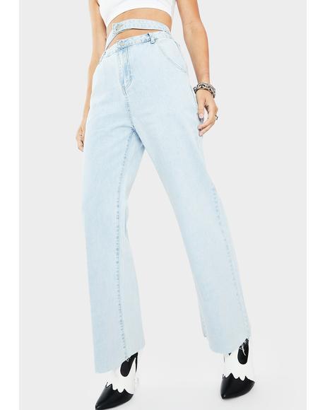 Juna Cut Out Jeans