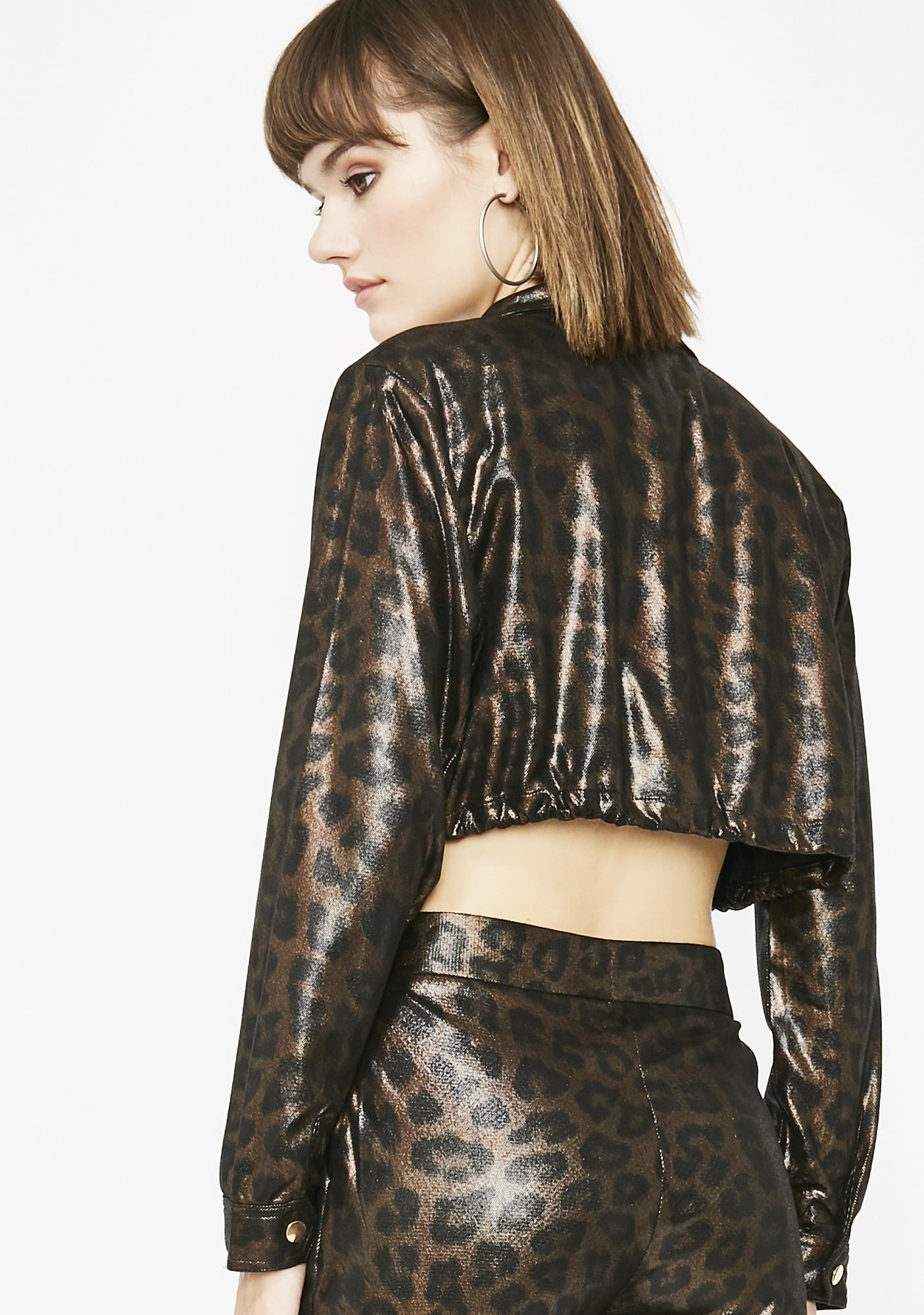 Savage Cat Leopard Jacket