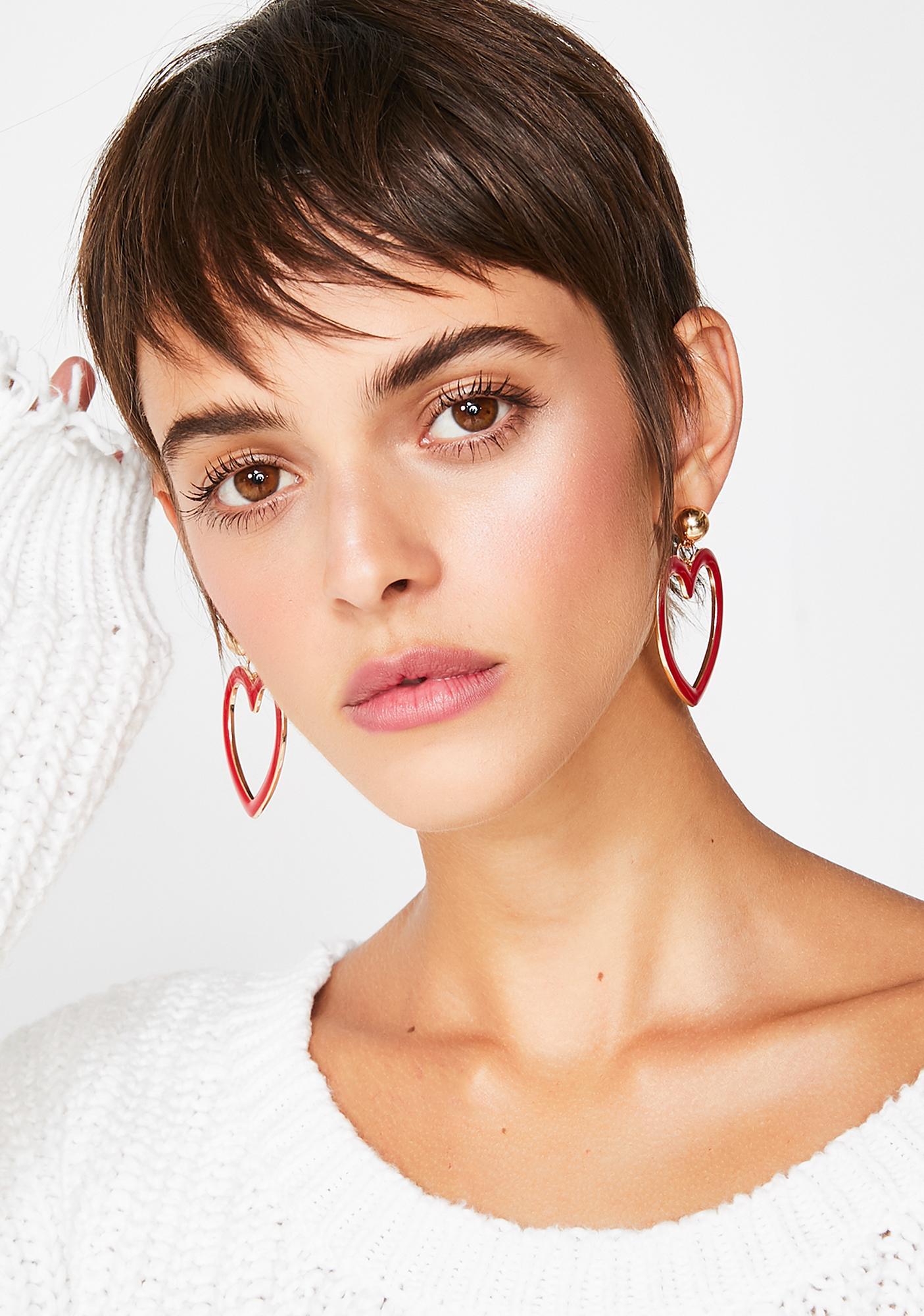 Show Me Love Earrings