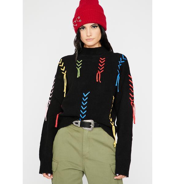 High Strung Knit Sweater
