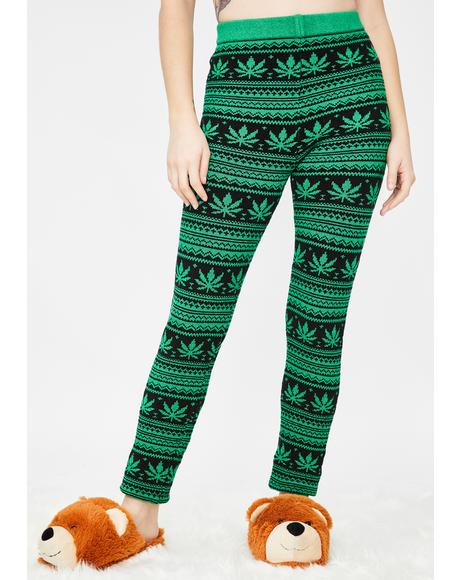 Midnight Cannabliss Leggings