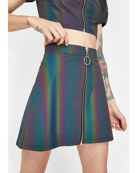 Night Savage Signalz Reflective Skirt
