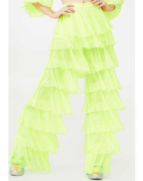 Electric Prima Baddie Tulle Pants